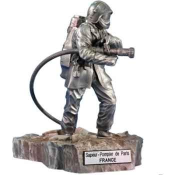 Figurines étains Sapeur pompier porte lance-France -FW001
