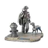 figurines etains firefighter n21 usa fw007
