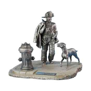 Figurines étains Firefighter n°21-USA -FW007