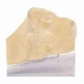 fragment de stele figurant une deesse rmngp re000069