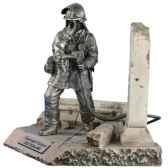figurines etains pompier allemand fw014