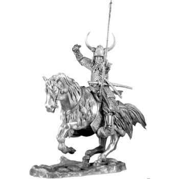 Figurines étains Cavalier seigneur de guerre -SA009