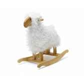 mouton a bascule blanc teddykompaniet 1378