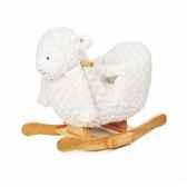 mouton a bascule pour bebe avec musique teddykompaniet 2247