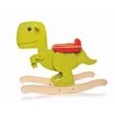 dinosaure a bascule vert teddykompaniet 2333