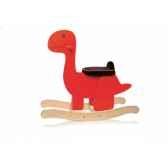 dinosaure a bascule rouge teddykompaniet 2334