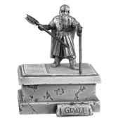 figurines etains gimli lr005