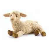 peluche agneau beige couche animaux 5366