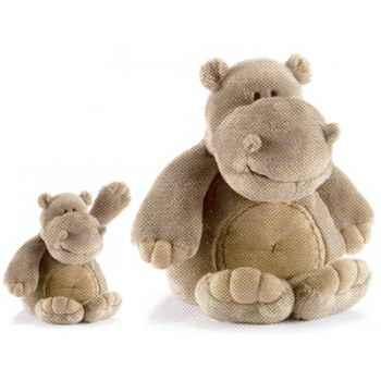 Peluche Animadoo hippo - Animaux 7065