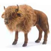 peluche bison d europe animaux 5239