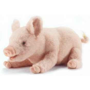 Peluche Cochon couché - Animaux 4944