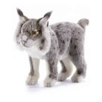 Peluche Lynx gris - Animaux 5185