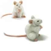 peluche souris blanche animaux 5323
