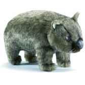 peluche wombat gris animaux 3248