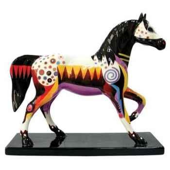 Figurine Cheval Prairie horizon Painted Ponies -PO12261