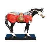 figurine chevacrazy horse painted ponies po12264