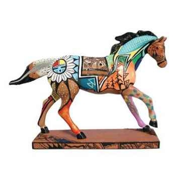 Figurine Cheval Indian Summer Painted Ponies -PO12266