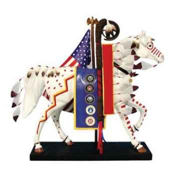 Figurine Cheval Trail of Honor Painted Ponies -PO12267