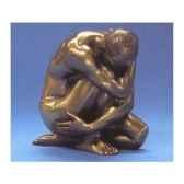 figurine bronze homme wrap around body talk wu72024