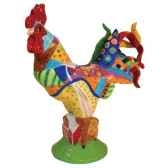 figurine coq country poultry in motion pm16713