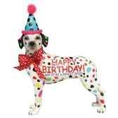 figurine chien dalmatien anniversaire hb16905