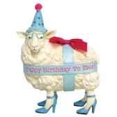 figurine ewe anniversaire hb16907