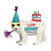 figurine ours polaire anniversaire hb16927