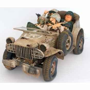 Figurine Patrouille Militaire Forchino -FO85056