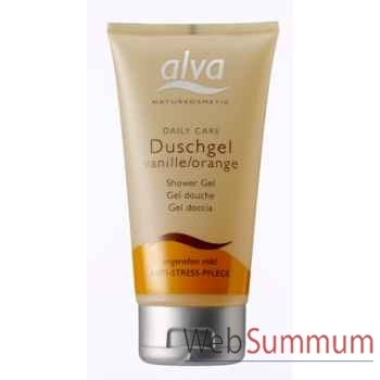 Gel douche vanille-orange Alva® -V7000