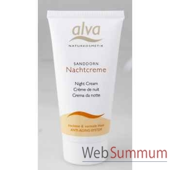 Crème de nuit Alva® -V7202