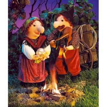 Marionnette personnage, Violoniste -2416