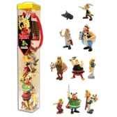 figurine tubo asterix 10 figurines 70357