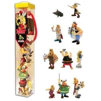 Figurine tubo Astérix 10 Figurines-70357
