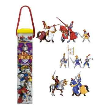 Figurine tubo les chevaliers 12 Figurines-70351