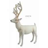cerf blanc debout 170 cm ramat 4121371
