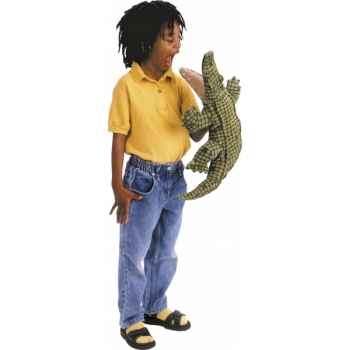Marionnette peluche, Alligator -2130