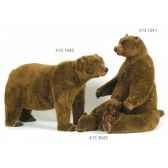 ours brun assis 120 cm ramat 4131041
