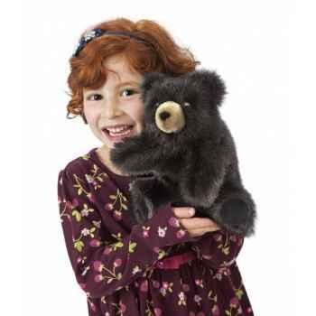 Marionnette peluche, bébé ours brun -2232