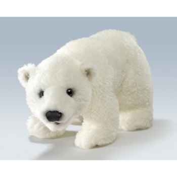 Marionnette peluche, bébé ours polaire -5001