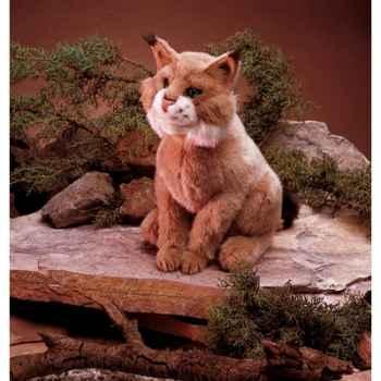 Marionnette peluche, Lynx -2199
