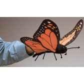 marionnette peluche papillon 2046