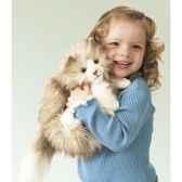 marionnette peluche chat grassouillet 2566