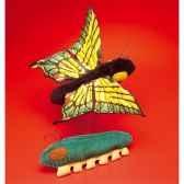 marionnette peluche papillon 6005