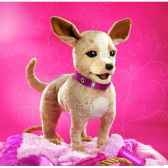 marionnette peluche chihuahua 2803