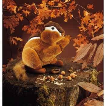Marionnette peluche, Chipmunk rayé -2092