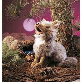 Marionnette peluche, Coyote -2226
