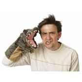 marionnette peluche crocodile pour theatre de marionnettes 2559