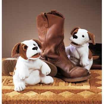 Marionnette peluche, petit chien -2227