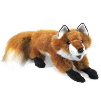 Marionnette peluche, petit renard roux -2576