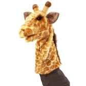 marionnette peluche girafe pour theatre de marionnettes 2561